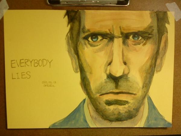 Hugh Laurie by antony910911